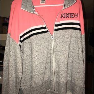 Jackets & Blazers - Vs pink large sports jacket